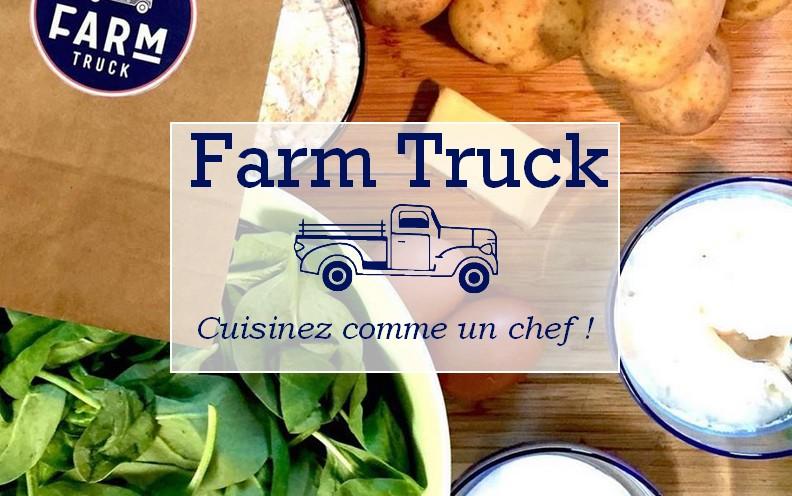 Farm truck cuisinez comme un chef for Cuisinez comme un chef