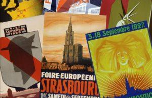 Affiche de la Foire Européenne Strasbourg
