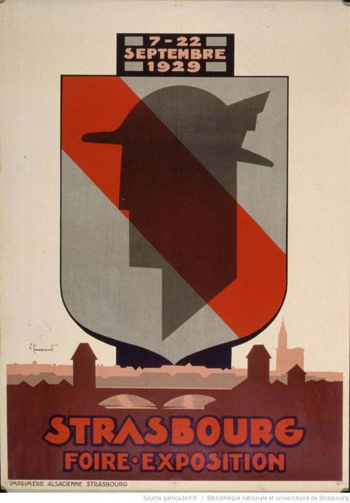 1929 Foire-exposition strasbourg