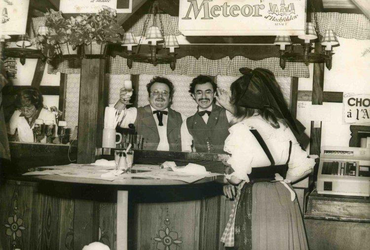 1970 - Stand Brasserie meteor