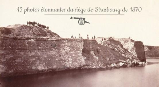 Siège Strasbourg 1870