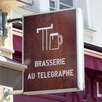 logo Brasserie au Télégraphe Strasbourg