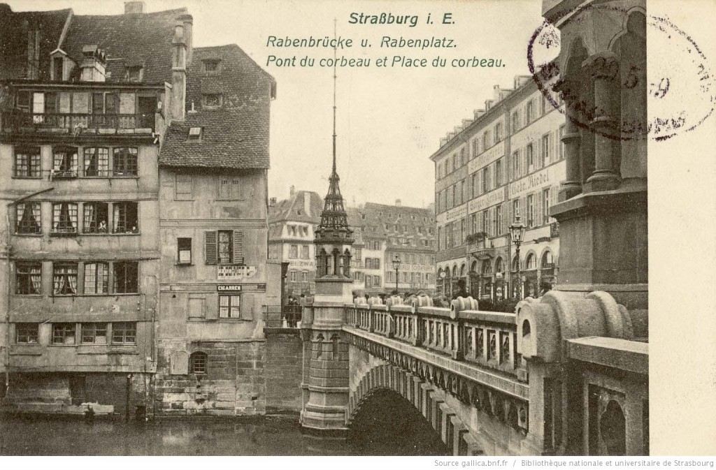 1909 pont du corbeau