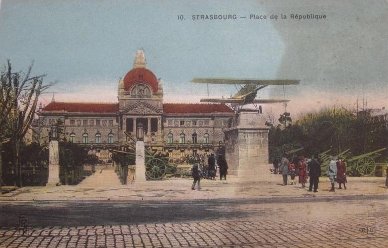Biplan Place de la République Strasbourg