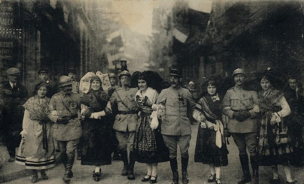 1918 Entrée des troupes à Strasbourg