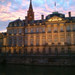 strasbourg cathédrale palais rohan de nuit