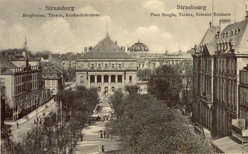 Vater Rhein Strasbourg Fontaine Broglie
