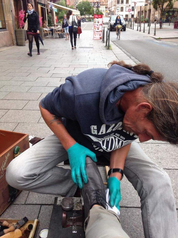 Laurent Delahaye coin cirage Strasbourg