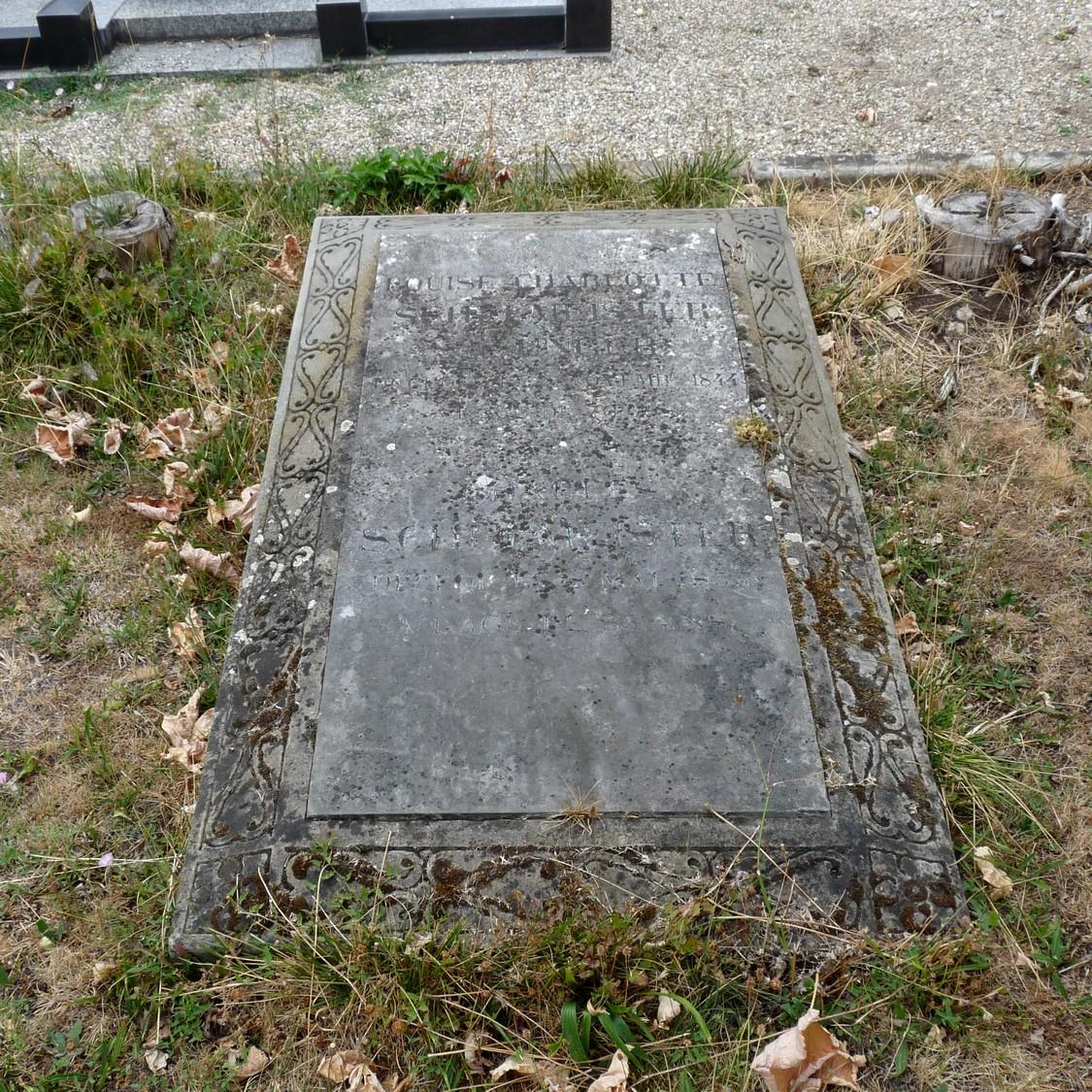 Tombe, sépulture Charles Louis Schulmeister Espion Napoléon
