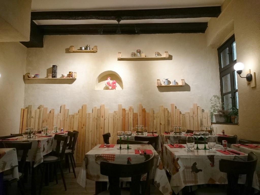 Le croupion qui fume restaurant Strasbourg
