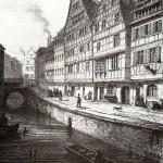 rue du fossé des tanneurs en 1840