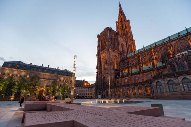 Place du Chateau Strasbourg