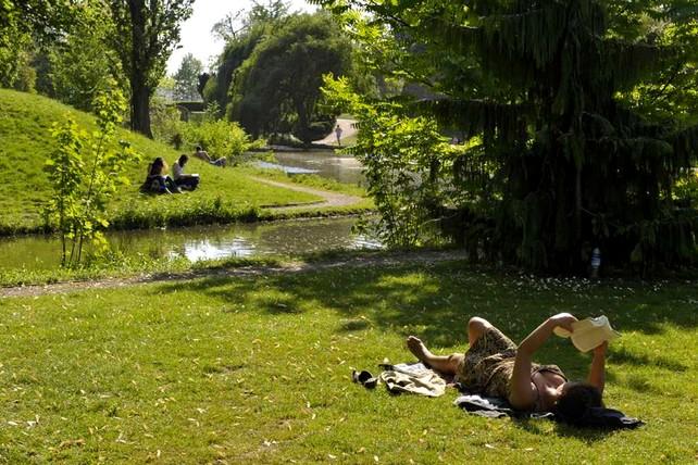 Parc de la citadelle esplanade Strasbourg Vauban