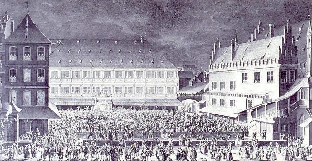 1744 Roy hotel de ville strasbourg