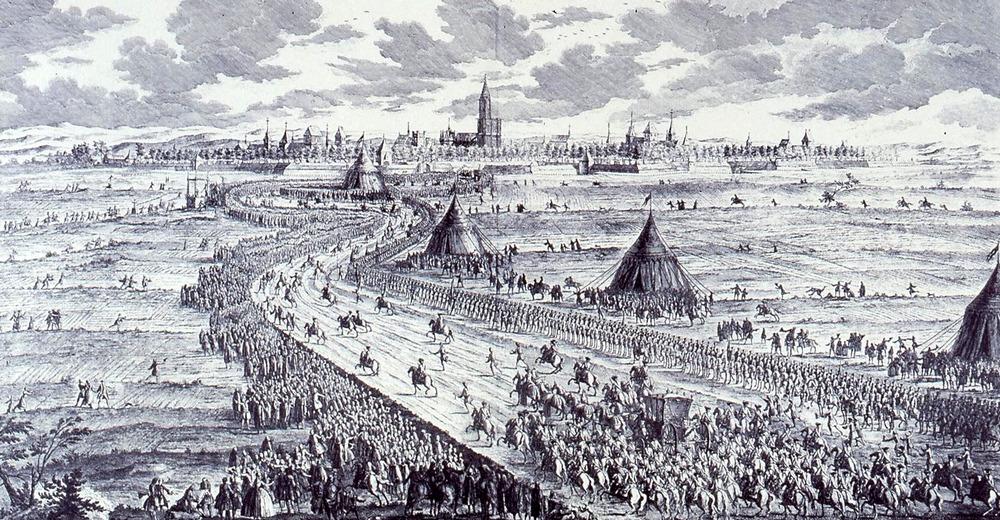 1744 arrivée Louis XV Strasbourg