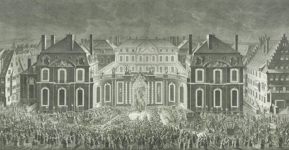 1744 louis 15 palais rohan Strasbourg