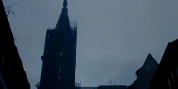 La Cathédrale (en rénovation à l'époque apparement)