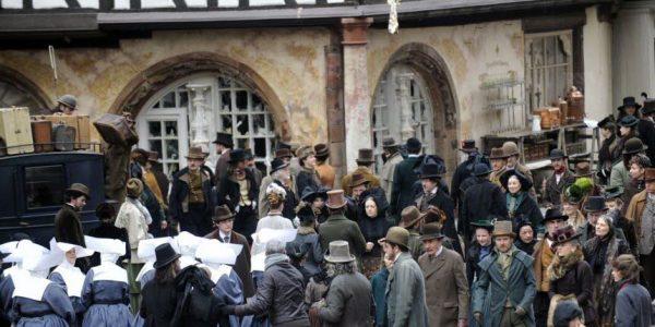 Tournage Sherlock Holmes (Photo AFP)