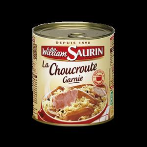 La choucroute, plat du terroir alsacien adapté aux parisiens