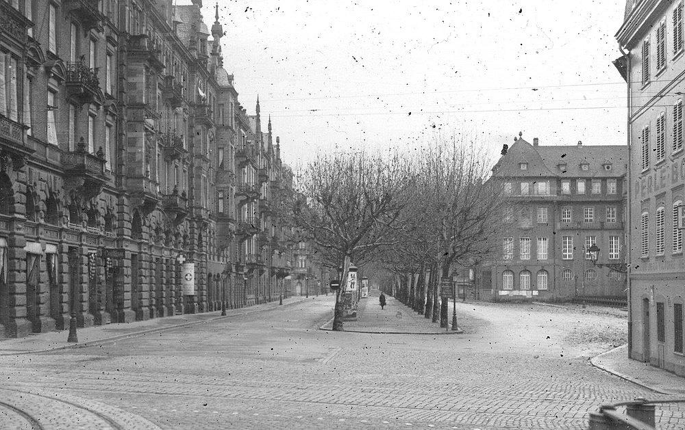 Strasbourg deuxième guerre mondiale drôle de guerre WW2 France 1940