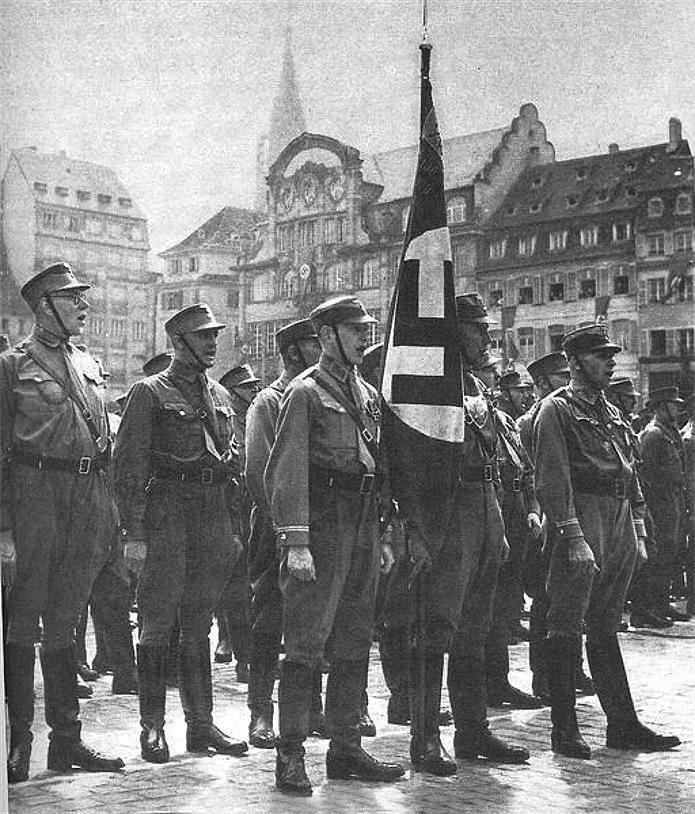 Strasbourg deuxième guerre mondiale WW2 France occupation