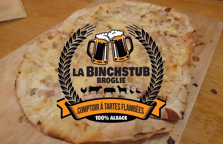 Binchstub Strasbourg tartes flambées restaurant