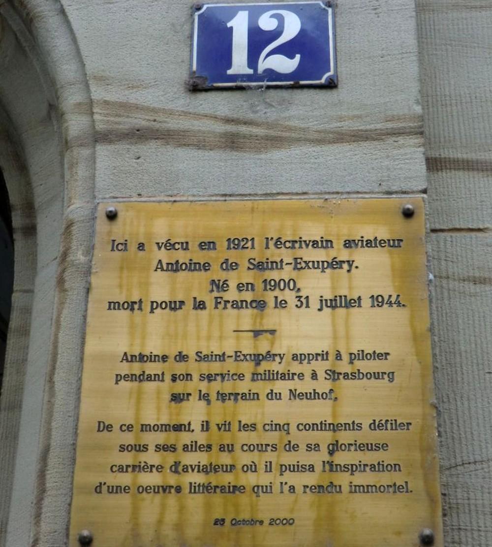 Antoine de Saint Exupéry Strasbourg Polygone histoire