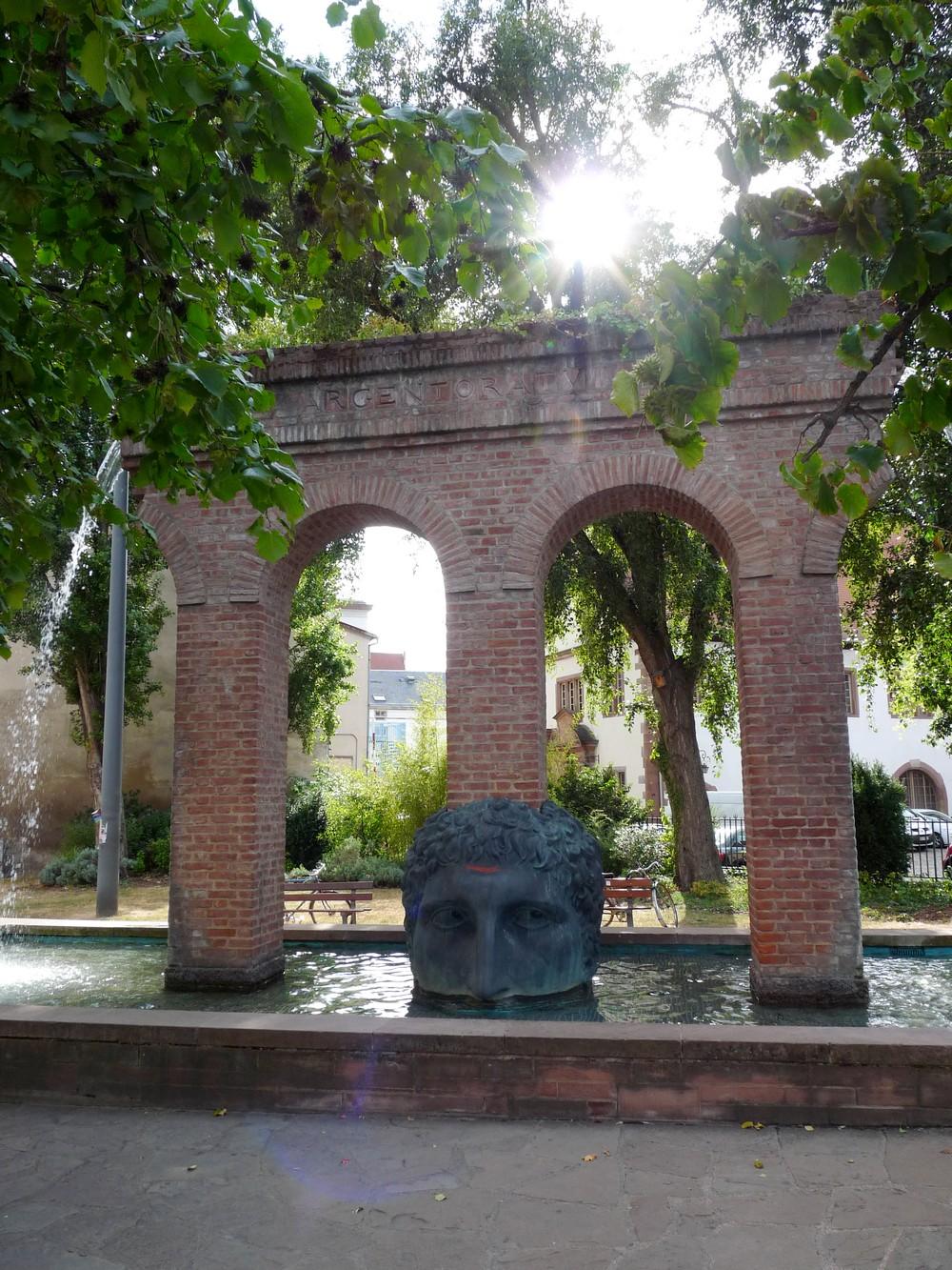 Fontaine de Janus Strasbourg histoire