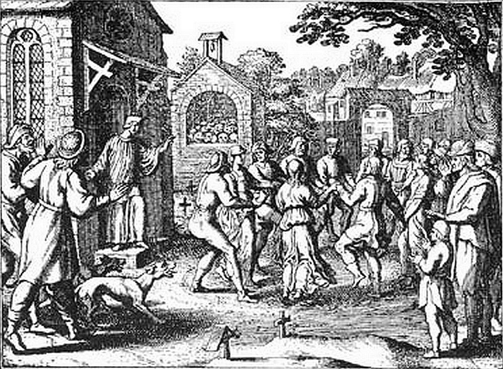 Épidémie de danse Strasbourg 1518 Frau Troffea