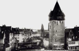Strasbourg Disparu La Tour-aux-Florins Guldenturm