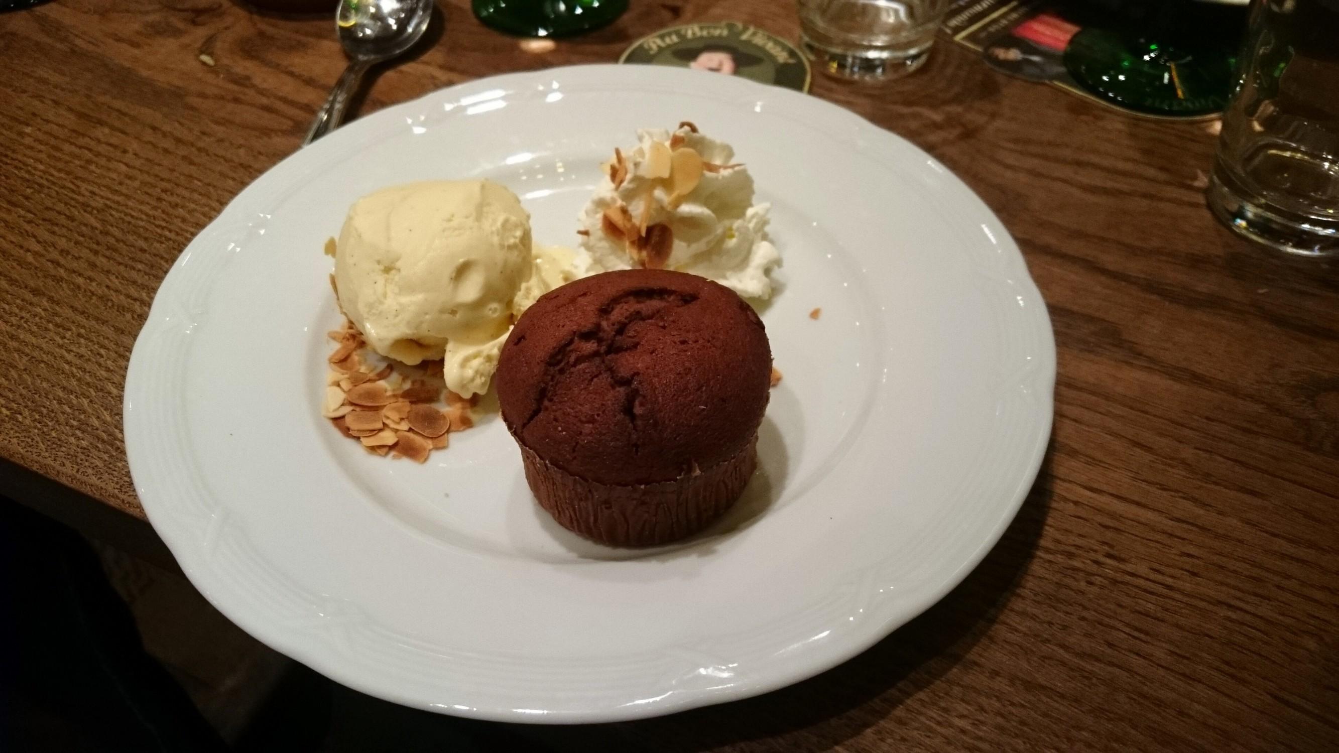 moelleux au chocolat bonvivant Au bon vivant Winstub Restaurant Strasbourg