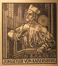 Prédications de Johan (Jean) Geiler de Kaysersberg