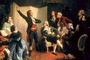 Rouget de l'Isle chantant la Marseillaise, 1849