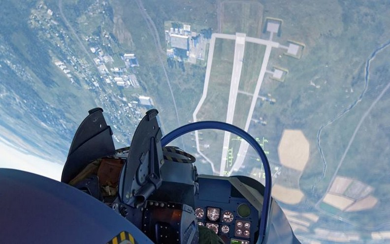 Pilotez un avion de chasse à Entzheim  !