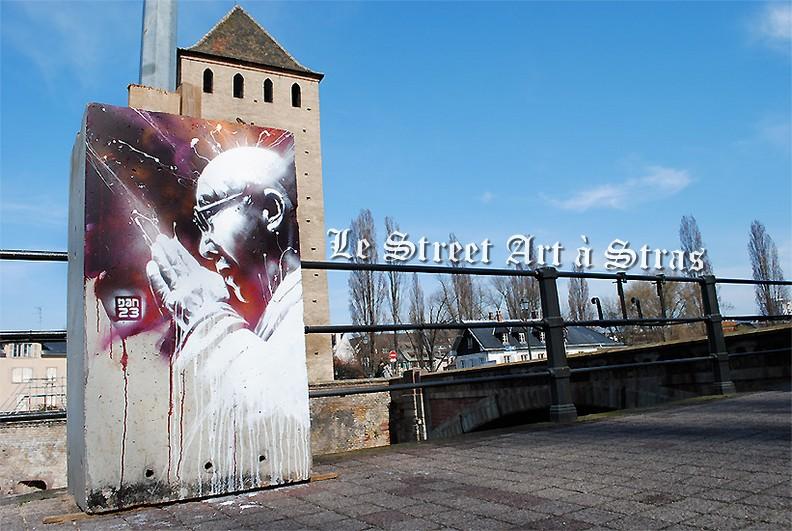 Aperçu du street art à Strasbourg