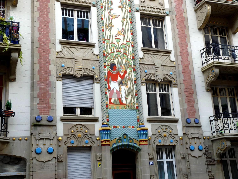 Maison egyptienne Strasbourg Rapp