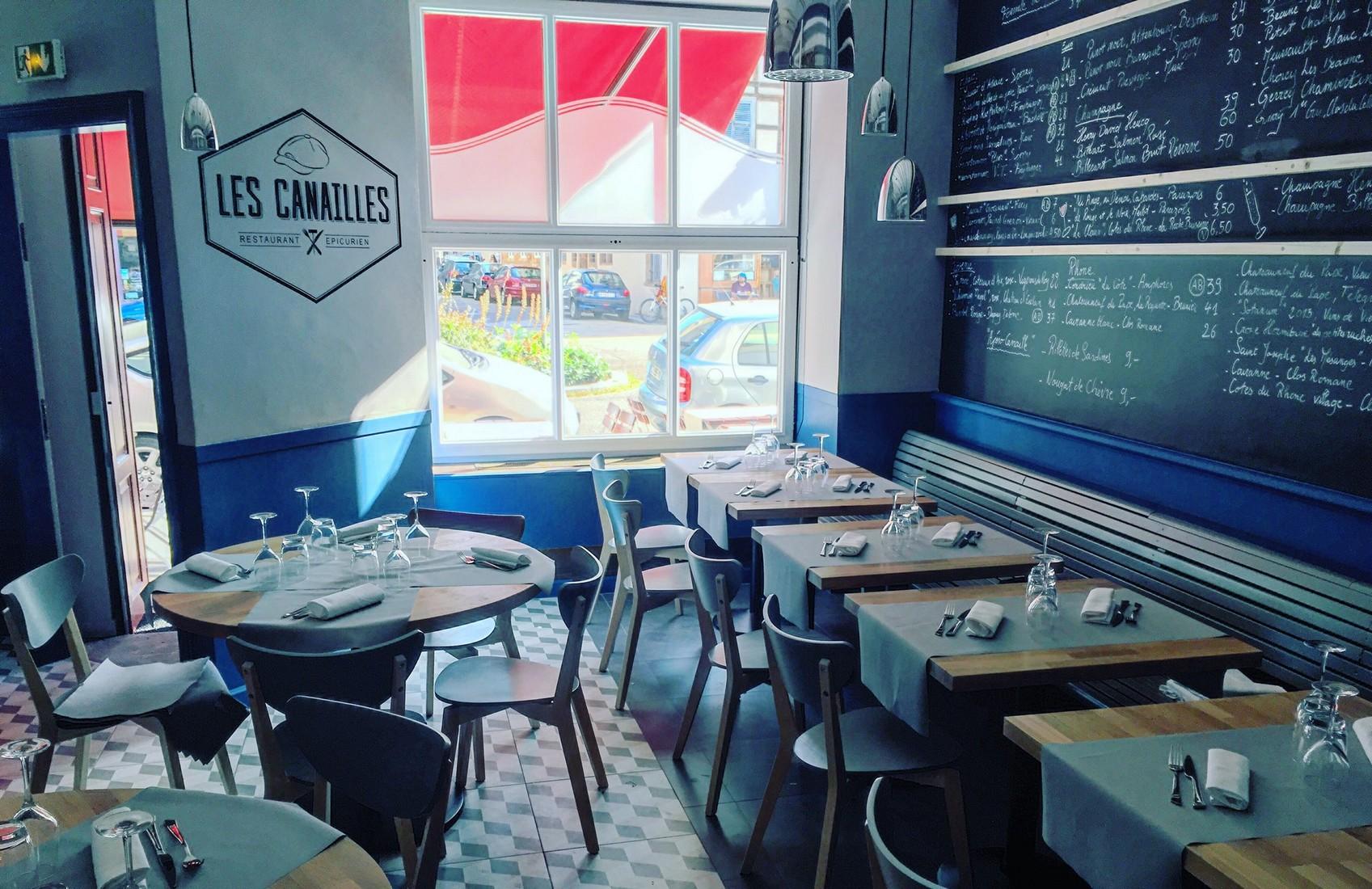 Les Canailles, restaurant épicurien à Strasbourg