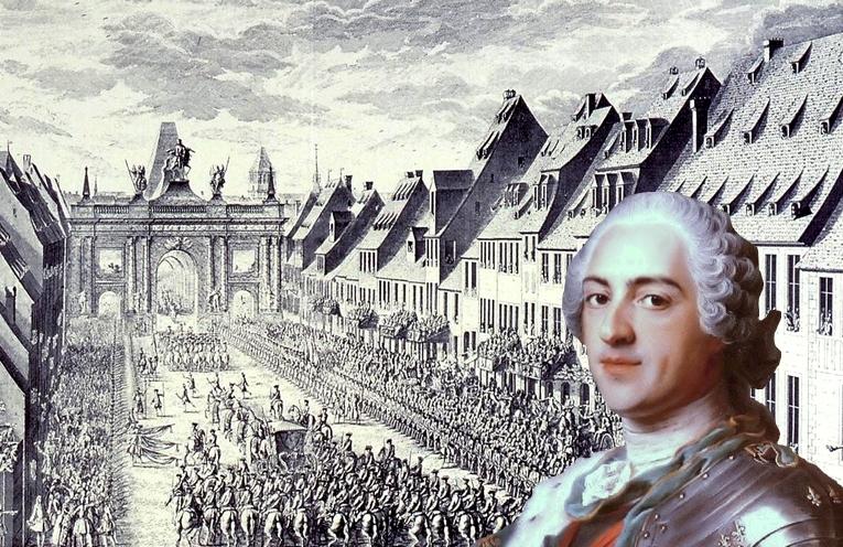 La visite de Louis XV à Strasbourg