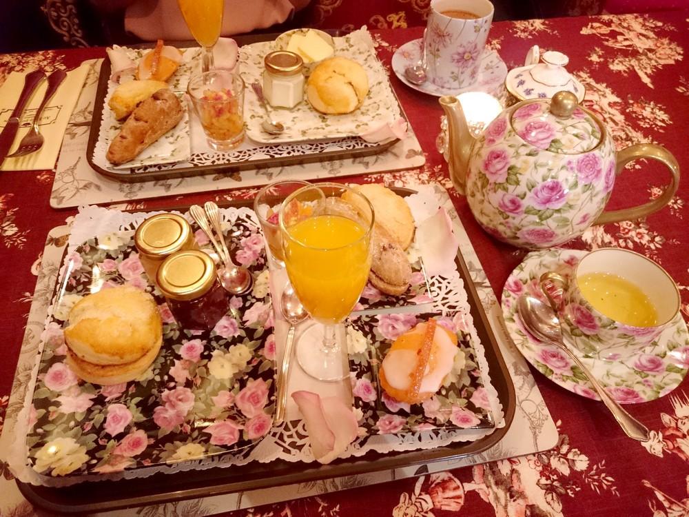 Un petit déjeuner au Fond du Jardin, l'excellence et le raffinement