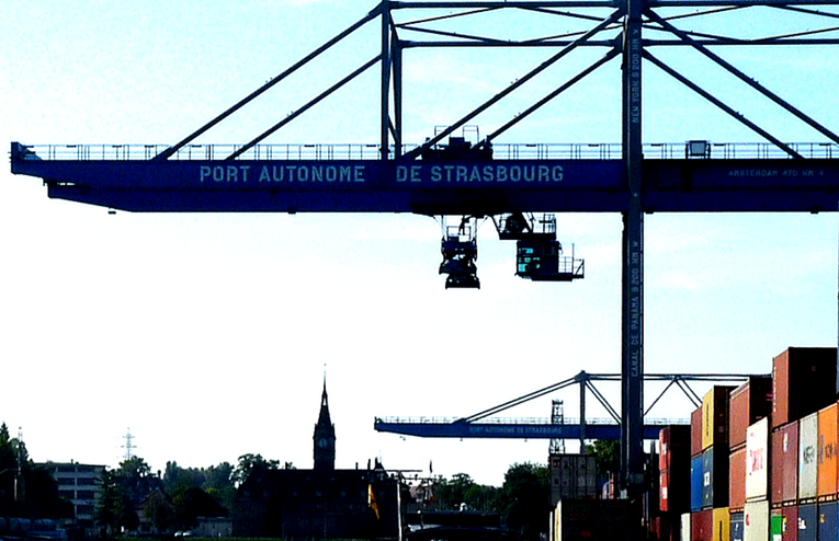 Le Port Autonome de Strasbourg, 2ème port fluvial de France. Qui l'eut cru ?