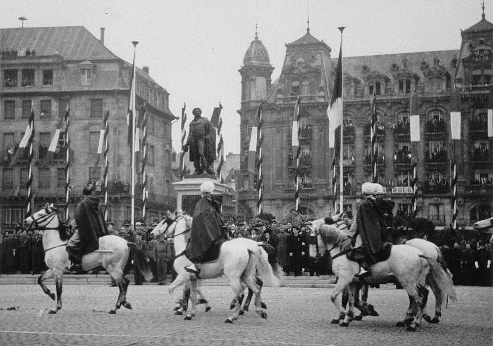 Libération Strasbourg deuxième guerre mondiale 1944 WW2 Alsace