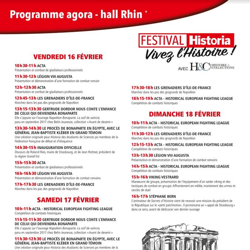 Historia Strasbourg festival histoire