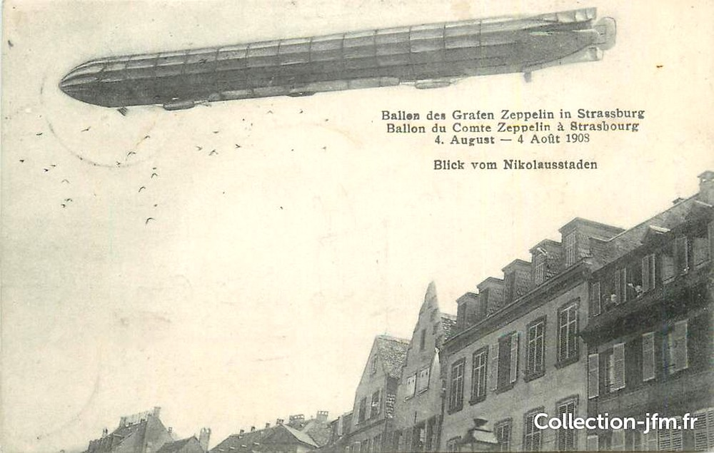 Zeppelin Strasbourg 1908