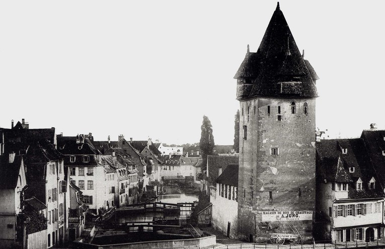 Strasbourg Disparu #3 : La Tour-aux-Florins (Guldenturm) à la Krutenau