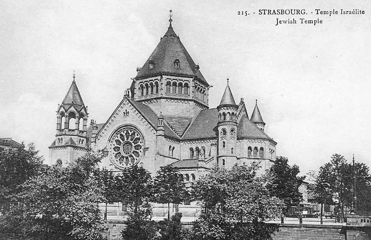 Strasbourg Disparu #5 : L'ancienne Synagogue détruite par les nazis