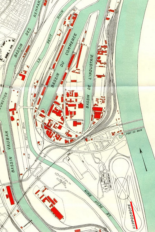 Ancien Hippodrome de Strasbourg disparu