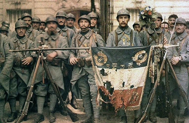 Top 30 des photos colorisées de la Première Guerre Mondiale (WW1)
