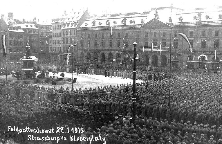 (Photos) L'Alsace pendant la Première Guerre Mondiale : le front et la vie à l'arrière