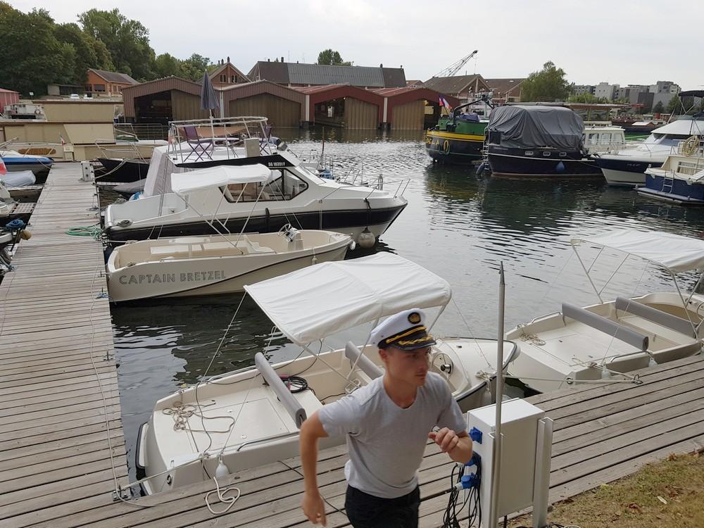 Captain Bretzel Bateau electrique Ill Strasbourg
