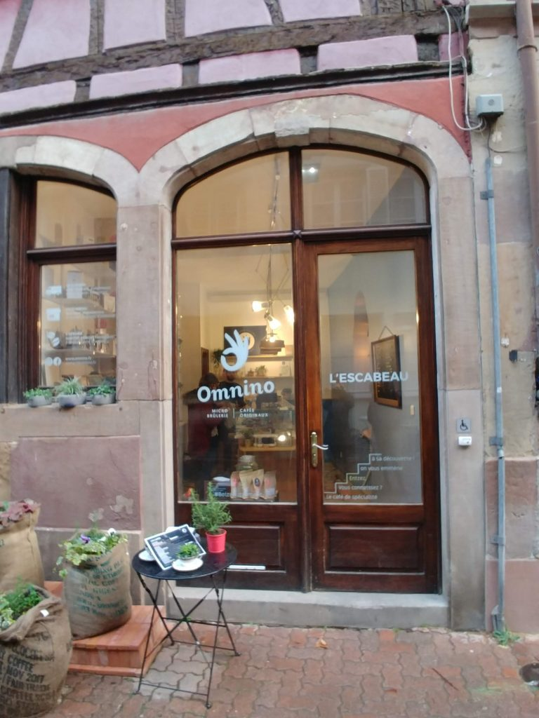 Café boutique l'escabeau